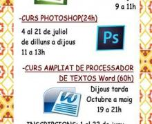Curs d'Excel, Photoshop i Word