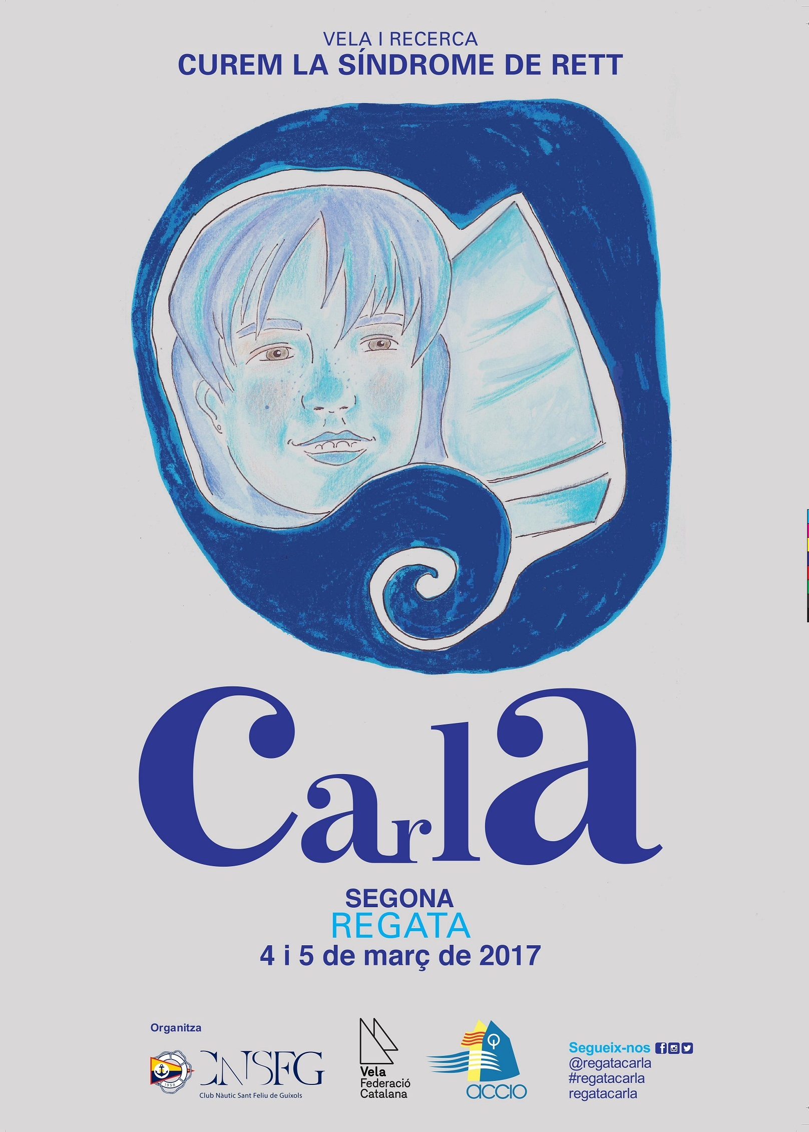 Cartell 2017 de car Regata Carla